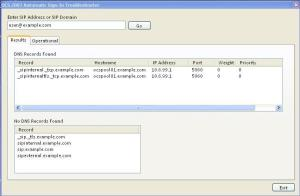 OCS 2007 Automatic Sign-In Troubleshooting Tool V1.0
