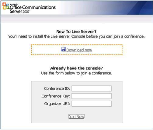 Web based OCS Live Meeting Management Tool « Inside OCS